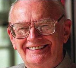 Arthur C Clarke (inventor of the communications satellite)
