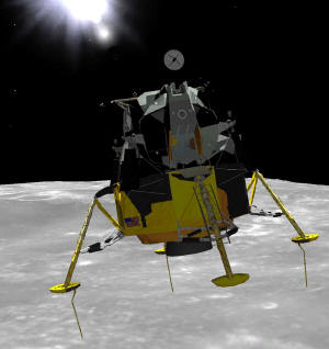 Download a free Apollo Lunar Landing simulation