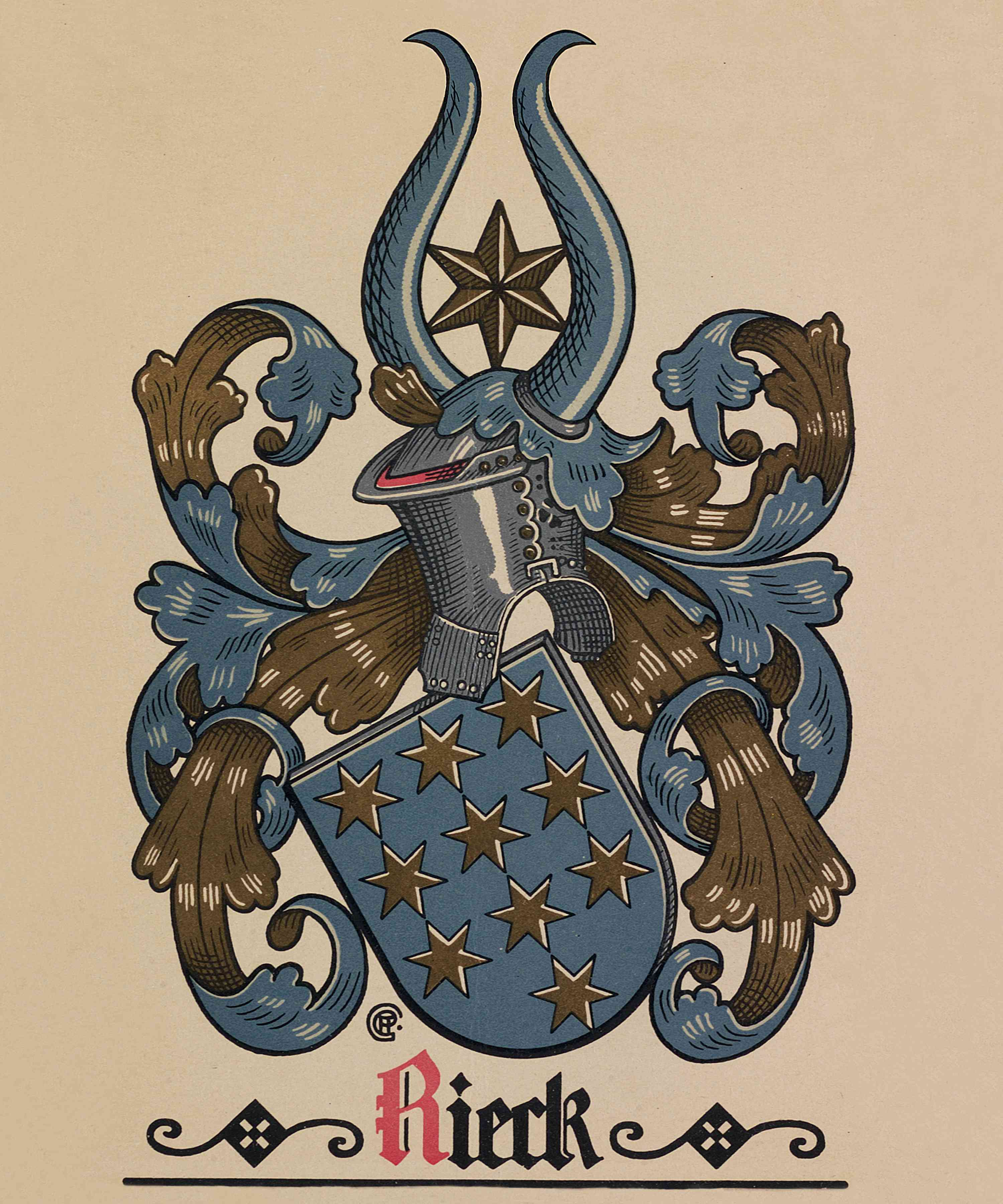 Rieck Coat-of-Arms